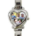 Pretty Watch - Heart Italian Charm Watch