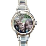 kids - Round Italian Charm Watch