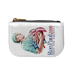 Ron Paul Coin Purse By Stephany Roach   Mini Coin Purse   Elb4j10f90sx   Www Artscow Com Front