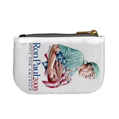 Ron Paul Coin Purse By Stephany Roach   Mini Coin Purse   Elb4j10f90sx   Www Artscow Com Back