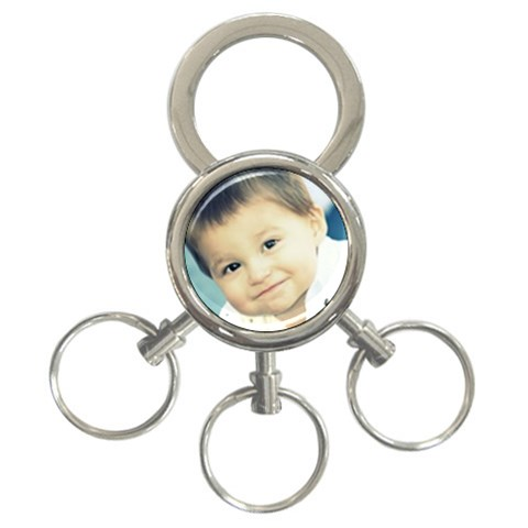 Cole By Debbie   3 Ring Key Chain   Txf16t86e7eq   Www Artscow Com Front
