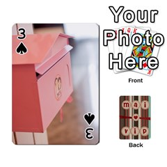 Playcard By Vipavee Ningsanond   Playing Cards 54 Designs   C99f5riwpv9h   Www Artscow Com Front - Spade3