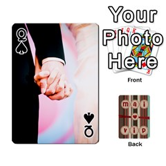 Queen Playcard By Vipavee Ningsanond   Playing Cards 54 Designs   C99f5riwpv9h   Www Artscow Com Front - SpadeQ