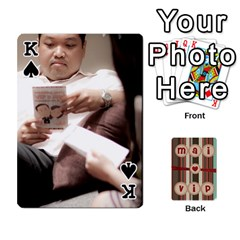 King Playcard By Vipavee Ningsanond   Playing Cards 54 Designs   C99f5riwpv9h   Www Artscow Com Front - SpadeK