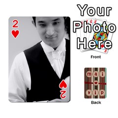 Playcard By Vipavee Ningsanond   Playing Cards 54 Designs   C99f5riwpv9h   Www Artscow Com Front - Heart2