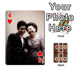 Playcard By Vipavee Ningsanond   Playing Cards 54 Designs   C99f5riwpv9h   Www Artscow Com Front - Heart4