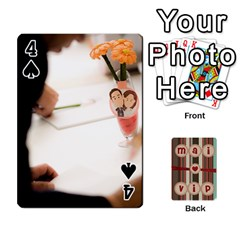 Playcard By Vipavee Ningsanond   Playing Cards 54 Designs   C99f5riwpv9h   Www Artscow Com Front - Spade4