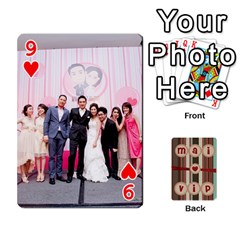 Playcard By Vipavee Ningsanond   Playing Cards 54 Designs   C99f5riwpv9h   Www Artscow Com Front - Heart9
