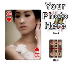 Playcard By Vipavee Ningsanond   Playing Cards 54 Designs   C99f5riwpv9h   Www Artscow Com Front - Heart10