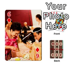 Playcard By Vipavee Ningsanond   Playing Cards 54 Designs   C99f5riwpv9h   Www Artscow Com Front - Diamond6