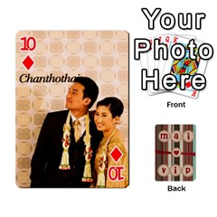 Playcard By Vipavee Ningsanond   Playing Cards 54 Designs   C99f5riwpv9h   Www Artscow Com Front - Diamond10