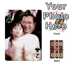 Playcard By Vipavee Ningsanond   Playing Cards 54 Designs   C99f5riwpv9h   Www Artscow Com Front - Club2