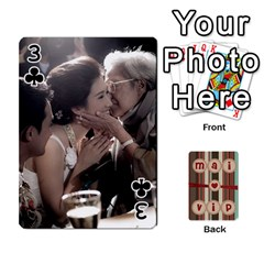 Playcard By Vipavee Ningsanond   Playing Cards 54 Designs   C99f5riwpv9h   Www Artscow Com Front - Club3