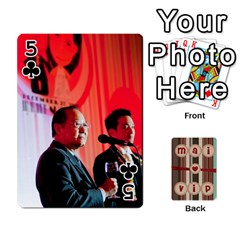 Playcard By Vipavee Ningsanond   Playing Cards 54 Designs   C99f5riwpv9h   Www Artscow Com Front - Club5