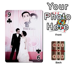 Playcard By Vipavee Ningsanond   Playing Cards 54 Designs   C99f5riwpv9h   Www Artscow Com Front - Club9