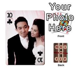 Playcard By Vipavee Ningsanond   Playing Cards 54 Designs   C99f5riwpv9h   Www Artscow Com Front - Club10