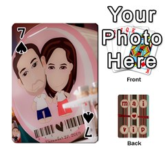 Playcard By Vipavee Ningsanond   Playing Cards 54 Designs   C99f5riwpv9h   Www Artscow Com Front - Spade7