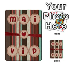 Playcard By Vipavee Ningsanond   Playing Cards 54 Designs   C99f5riwpv9h   Www Artscow Com Back