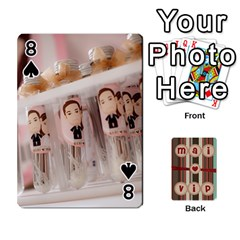 Playcard By Vipavee Ningsanond   Playing Cards 54 Designs   C99f5riwpv9h   Www Artscow Com Front - Spade8