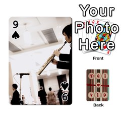 Playcard By Vipavee Ningsanond   Playing Cards 54 Designs   C99f5riwpv9h   Www Artscow Com Front - Spade9