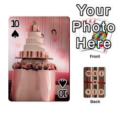 Playcard By Vipavee Ningsanond   Playing Cards 54 Designs   C99f5riwpv9h   Www Artscow Com Front - Spade10