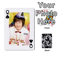 Queen Suju Playing Cards By Mia Story   Playing Cards 54 Designs   Yap4e21nkrir   Www Artscow Com Front - SpadeQ