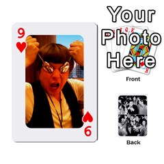 Suju Playing Cards By Mia Story   Playing Cards 54 Designs   Yap4e21nkrir   Www Artscow Com Front - Heart9