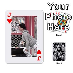 Jack Suju Playing Cards By Mia Story   Playing Cards 54 Designs   Yap4e21nkrir   Www Artscow Com Front - HeartJ