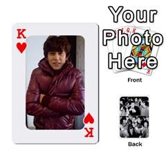 King Suju Playing Cards By Mia Story   Playing Cards 54 Designs   Yap4e21nkrir   Www Artscow Com Front - HeartK
