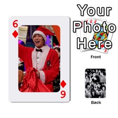 Suju Playing Cards By Mia Story   Playing Cards 54 Designs   Yap4e21nkrir   Www Artscow Com Front - Diamond6