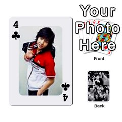 Suju Playing Cards By Mia Story   Playing Cards 54 Designs   Yap4e21nkrir   Www Artscow Com Front - Club4