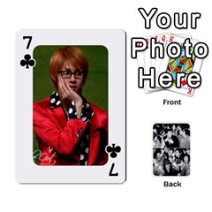 Suju Playing Cards By Mia Story   Playing Cards 54 Designs   Yap4e21nkrir   Www Artscow Com Front - Club7