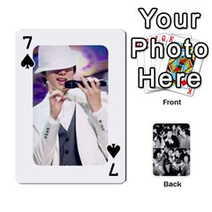 Suju Playing Cards By Mia Story   Playing Cards 54 Designs   Yap4e21nkrir   Www Artscow Com Front - Spade7