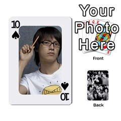 Suju Playing Cards By Mia Story   Playing Cards 54 Designs   Yap4e21nkrir   Www Artscow Com Front - Spade10