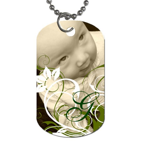 By Courtney Zimmerman   Dog Tag (one Side)   S37z64ylabdi   Www Artscow Com Front