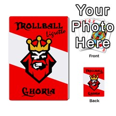 Gorghor Trollball Deck 1   Ghoria By Wazo   Playing Cards 54 Designs   3bcpde76g44m   Www Artscow Com Back