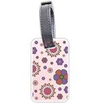 flowers2_1 Luggage Tag (one side)