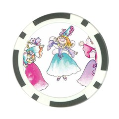 WA12198large Poker Chip Card Guard (10 pack) from ArtsNow.com Front