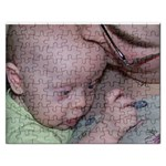 Sarah and Ethan puzzle - Jigsaw Puzzle (Rectangular)