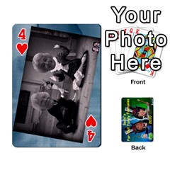 Becki s Jibjab Cards #1 By R K  Felton   Playing Cards 54 Designs   Y0azymgxypzr   Www Artscow Com Front - Heart4