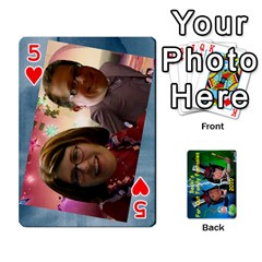 Becki s Jibjab Cards #1 By R K  Felton   Playing Cards 54 Designs   Y0azymgxypzr   Www Artscow Com Front - Heart5