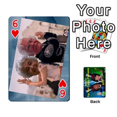 Becki s Jibjab Cards #1 By R K  Felton   Playing Cards 54 Designs   Y0azymgxypzr   Www Artscow Com Front - Heart6