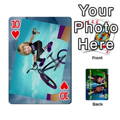 Becki s Jibjab Cards #1 By R K  Felton   Playing Cards 54 Designs   Y0azymgxypzr   Www Artscow Com Front - Heart10