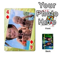 Becki s Jibjab Cards #1 By R K  Felton   Playing Cards 54 Designs   Y0azymgxypzr   Www Artscow Com Front - Diamond4