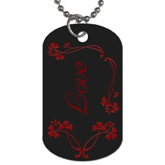 Tag By Becky   Dog Tag (two Sides)   2t9joyg1pnus   Www Artscow Com Back
