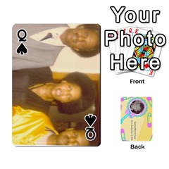 Queen Larry Playing Cards By Lynne Lee   Playing Cards 54 Designs (rectangle)   Fro25irqic5b   Www Artscow Com Front - SpadeQ