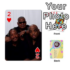 Larry Playing Cards By Lynne Lee   Playing Cards 54 Designs (rectangle)   Fro25irqic5b   Www Artscow Com Front - Heart2