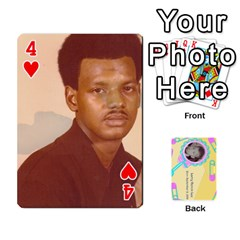 Larry Playing Cards By Lynne Lee   Playing Cards 54 Designs (rectangle)   Fro25irqic5b   Www Artscow Com Front - Heart4