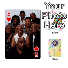 Larry Playing Cards By Lynne Lee   Playing Cards 54 Designs (rectangle)   Fro25irqic5b   Www Artscow Com Front - Heart5