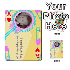 Ace Larry Playing Cards By Lynne Lee   Playing Cards 54 Designs (rectangle)   Fro25irqic5b   Www Artscow Com Front - HeartA